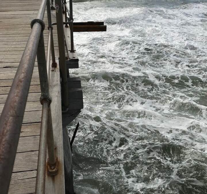 February update on Port Noarlunga Jetty Stairs